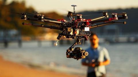 У Харкові дрони охороняють електричні мережі