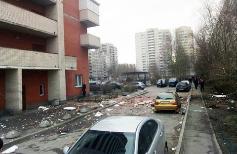 У Санкт-Петербурзі стався вибух у будинку (ВІДЕО)