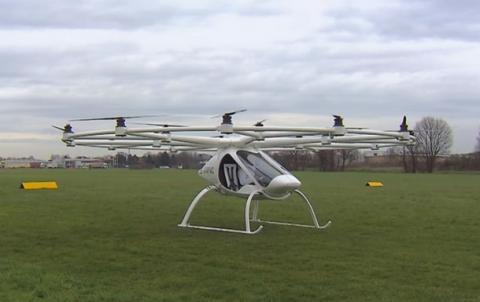 У Німеччині представили повітряне таксі (ФОТО)