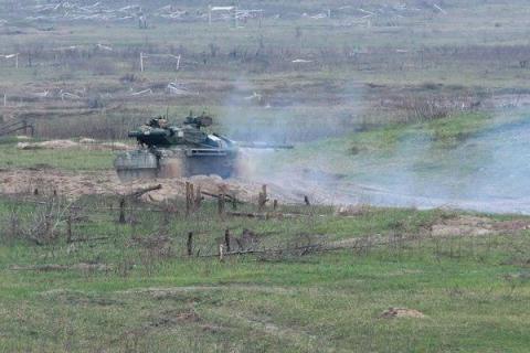 """Танкова бригада """"Північ"""" організувала тактичні навчання з бойовою стрільбою (ФОТО)"""