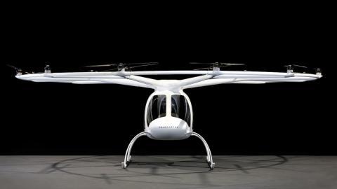 E-volo презентувала пасажирський дрон (ФОТО, ВІДЕО)
