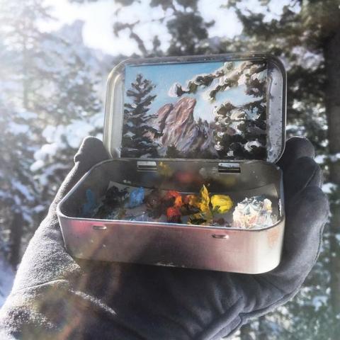 Художниця з Колоради творить шедеври на бляшаних коробках (ФОТО)