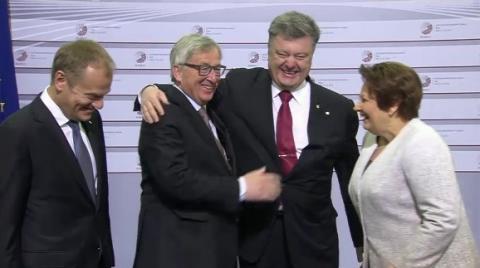 Порошенко провів консультації із делегатами Європарламенту