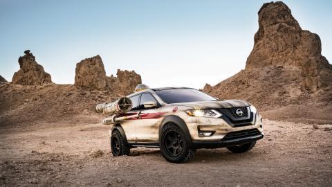 Nissan привезе на моторшоу в Нью-Йорку «Зірку смерті»