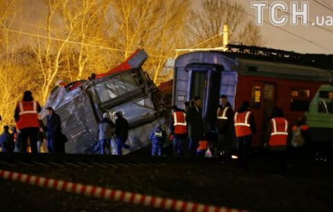 Велика кількість травмованих: у Росії на білоруському напрямі зіткнулися два потяги (ВІДЕО)