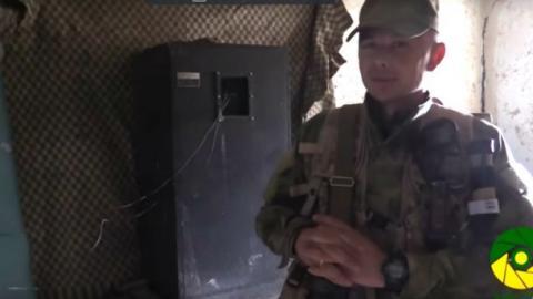"""Українські десантники щовечора """"мучають"""" терористів гімном (ВІДЕО)"""