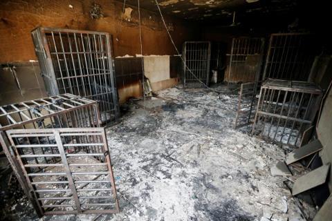 Хаос та зброя: що після себе залишають бойовики ІДІЛ (ФОТО)