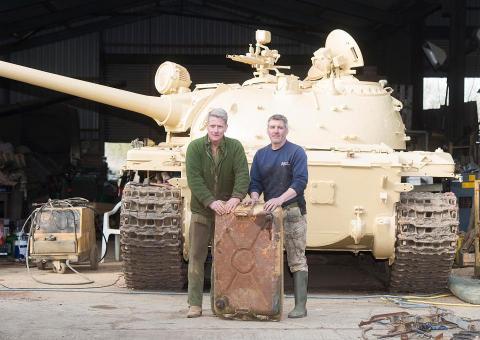 У Британії колекціонер знайшов у радянському танку золото (ФОТО)