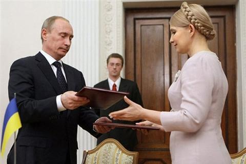 """Рівноцінний обмін: Гройсман запропонував передати Тимошенко """"Газпрому"""""""