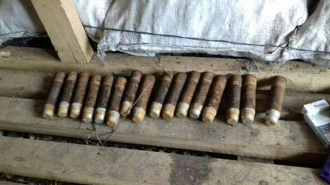 На Луганщині СБУ виявила боєприпаси (ФОТО)