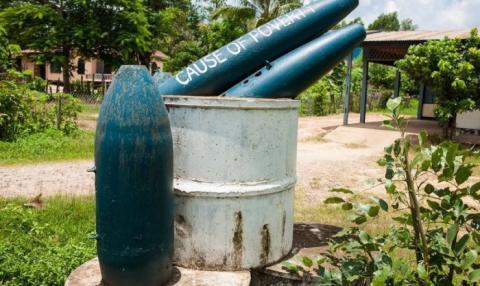 Відлуння війни: небезпечні знахідки у мирному Лаосі (ФОТО)