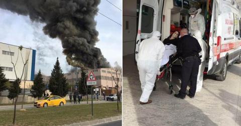 У Туреччині пролунав потужний вибух: влада повідомила про витік отруйної речовини (ВІДЕО)