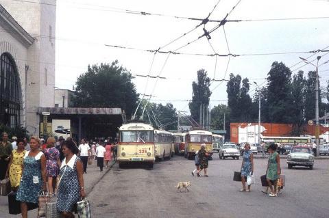 Найбільша тролейбусна лінія у СРСР (ФОТО)