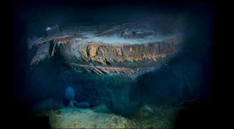 Титанік. Перший та останній рейс (ФОТО+ВІДЕО)