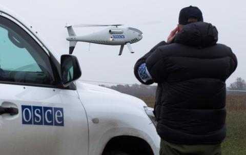 ОБСЄ зафіксувала пересування військової техніки бойовиків