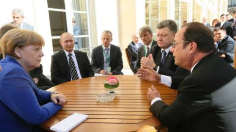 """У Путіна знову заговорили про """"нормандську зустріч"""""""