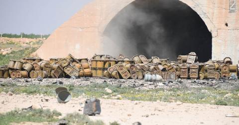 Сирійський лідер зберіг на складах хімічну зброю