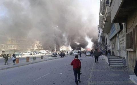 У Сирії стався вибух біля колони автобусів з евакуйованими