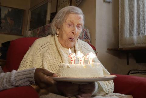 В Італії померла жінка, яка жила в трьох століттях (ФОТО)