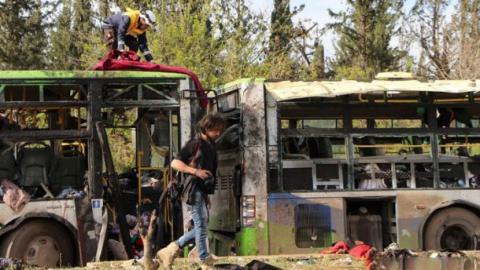Теракт в Алеппо: кількість жертв сягнула 100 осіб