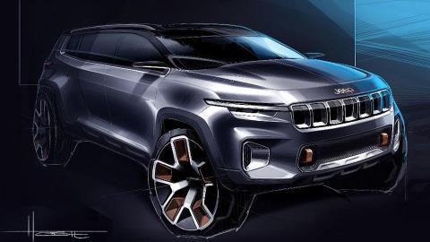 Jeep показав семимісний футуристичний позашляховик (ФОТО)