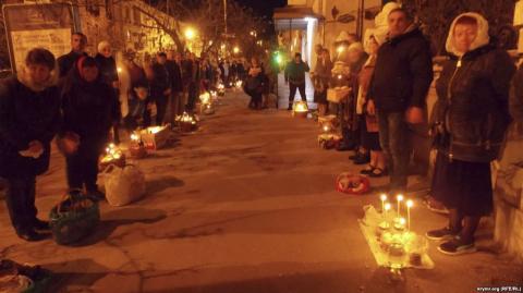 В окупованому Криму вели службу українською мовою, — ЗМІ