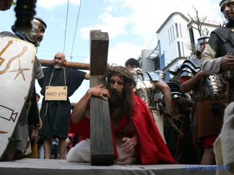 В Одесі відбулась хода Страстей Христових (ФОТО)