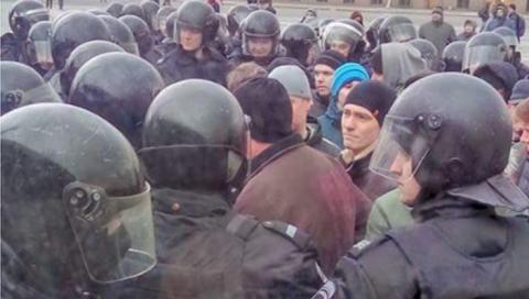 В Росії ОМОН розігнав чергову акцію протесту