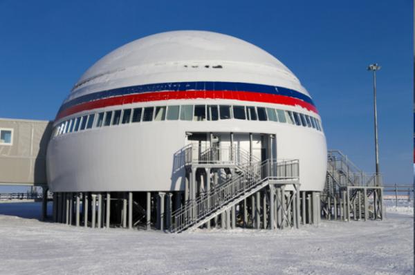 Росія показала свою військову базу в Арктиці (ФОТО)