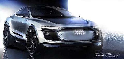 Audi розсекретила футуристичний позашляховик E-Tron (ФОТО)