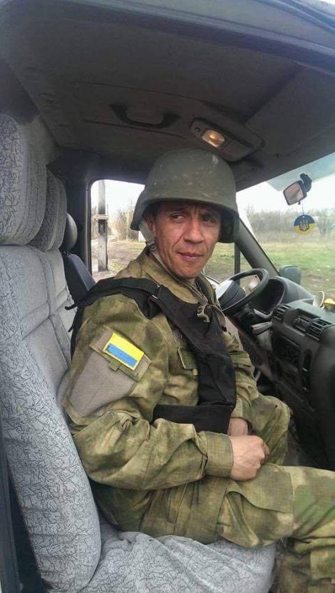 Двійник Обами захищає Україну від бойовиків (ФОТО)