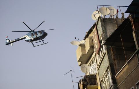 У Туреччині впав поліцейський вертоліт, є жертви