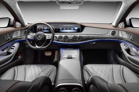 Розкіш з автопілотом: Mercedes презентував оновлений S-Class (ФОТО)