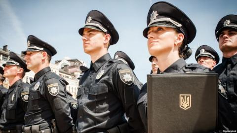 В офісі «Черкасиобленерго» поліція затримала 30 осіб