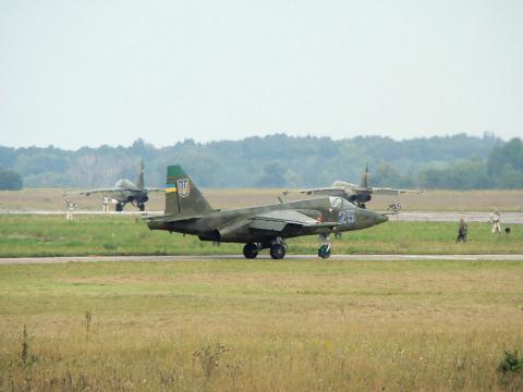 Українські бойові літаки Су-25 вже готові до оборони (ВІДЕО)