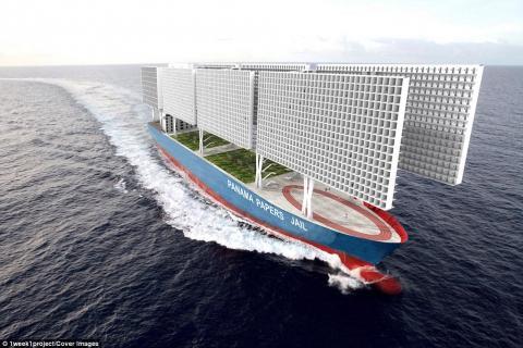 """Архітектори розробили дизайн корабля-в'язниці в стилі """"Ігри престолів"""""""