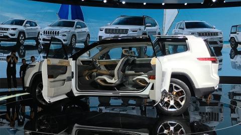 Jeep підготував для китайців семимісний кросовер (ФОТО)