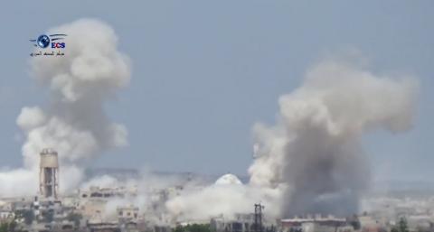 Російська авіація завдала чергового авіаудару у Сирії (ВІДЕО)