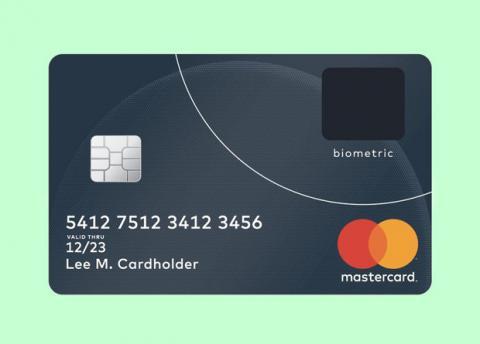 MasterCard розробила біометричну банківську карту