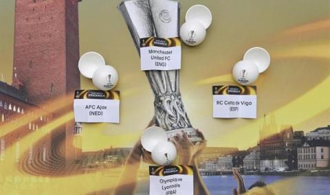 Жеребкування Ліги Європи: стали відомі полуфінальні пари