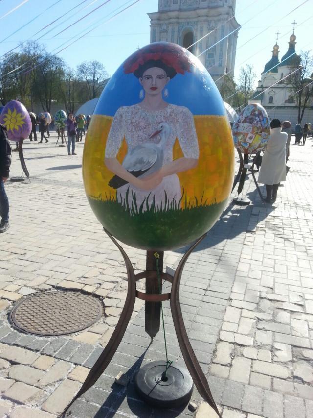 У столиці триває масштабний Всеукраїнський фестиваль писанки (ФОТО)