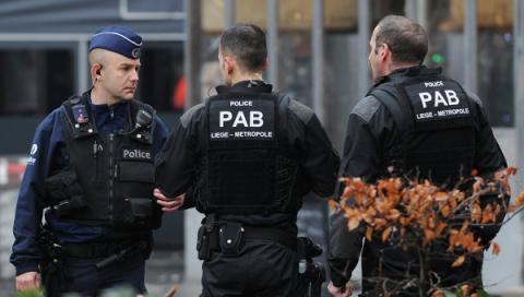 У Бельгії затримали п'ятьох осіб за підозрою в тероризмі