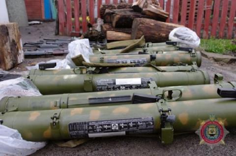 На Донбасі силовики виявили ДРГ, члени якої мали при собі російські вогнемети (ФОТО)
