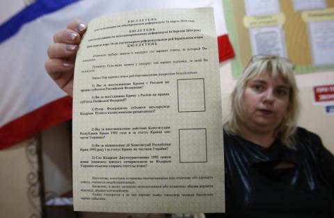 """Черговий російський """"опозиціонер"""" запропонував провести новий референдум в Криму"""