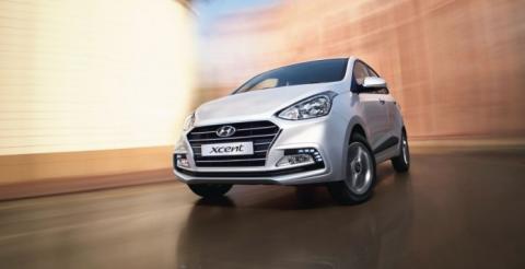 Hyundai розсекретив компактний седан Xcent (ФОТО)