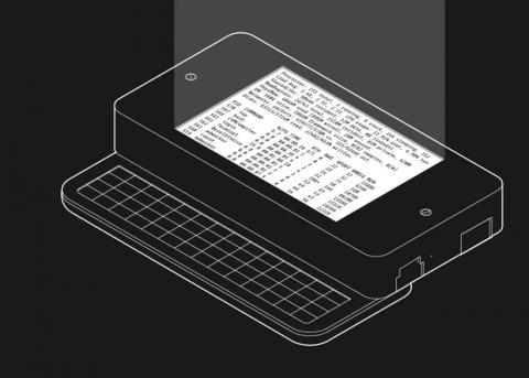 Американський відеоблогер створив п'ятидюймовий ноутбук (ВІДЕО)