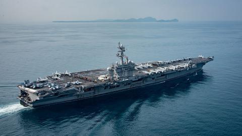 """Японія почала спільні навчання з американським авіаносцем """"Карл Вінсон"""""""
