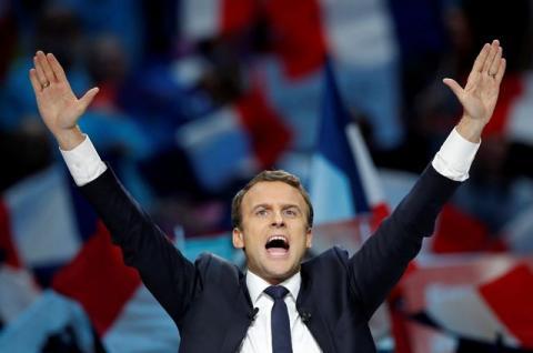 Макрон обійшов Ле Пен під час підрахунку голосів