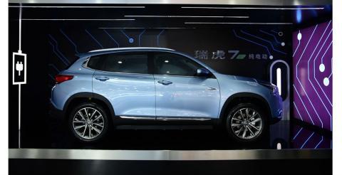 Китайці розсекретили електричну версію кросовера Tiggo 7 (ФОТО)