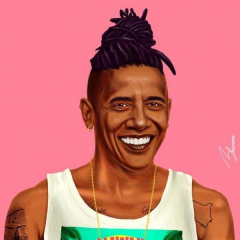 Ізраїльський художник зобразив у своєму курйозному проекті відомих політиків (ФОТО)